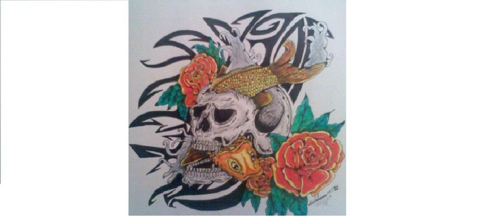 Skull and koi fish for How much does a koi fish cost