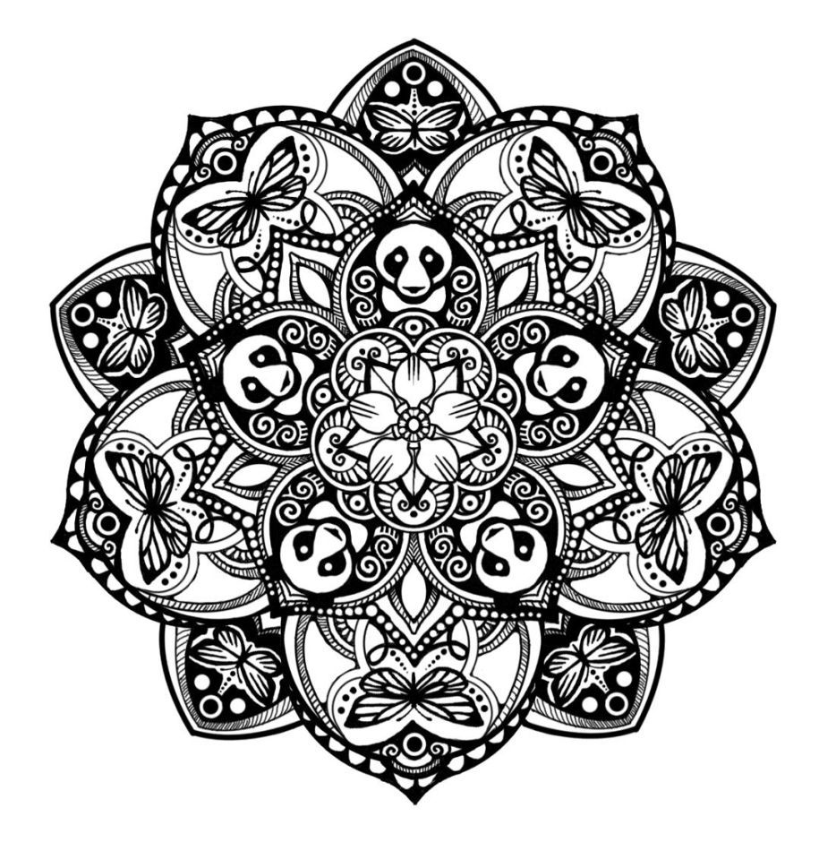 Panda Mandala Tattoodocom